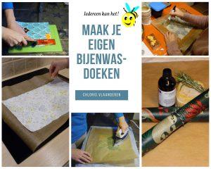 Boekje - Bijenwasdoek maken